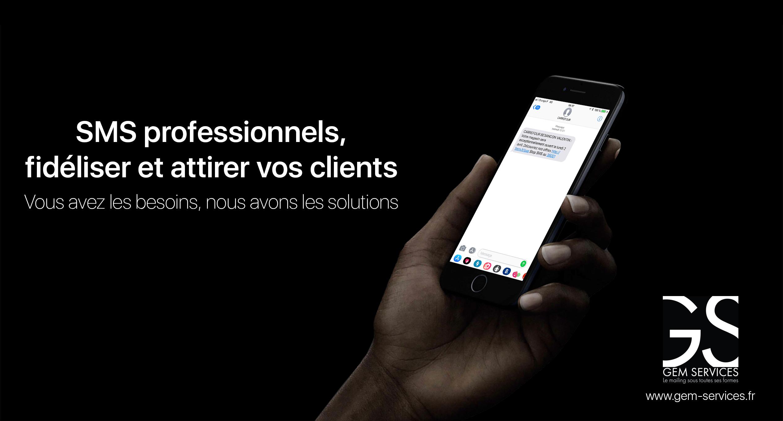 offre de campagne sms avec gestion de base de données, traitement du fichier